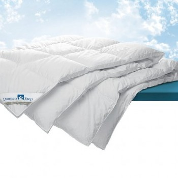 Luxury down duvet with silver DaunenStep G800