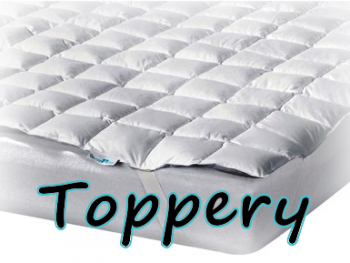 TOPPERY (chrániče matrace)